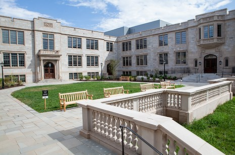 Ozark Hall has been renovated and expanded to house the Honors College, Graduate School and International Education and the Department of Geosciences.