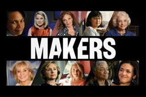 Publicity shot from the documentary Makers: Women Who Make America.