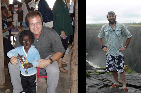 Keith Bramwell and Lanier Nalley have led Bumpers College students in Africa the last three years