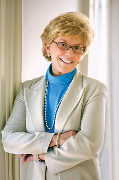 Jo Luck, former president and CEO of Heifer International.