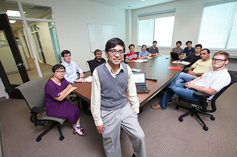 Ranil Wickramasinghe's research team focuses on membrane separations, including water treatment, wastewater recovery and reuse.