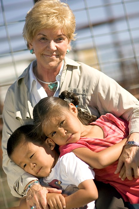 Jo Luck, former president and CEO of Heifer International