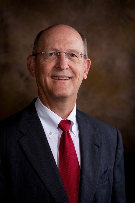 Don Pederson, vice chancellor for finance and administration.