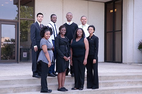 Participants in the 2014 George Washington Carver Research Program. Photo courtesy of Shani Farr Newton.