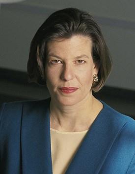 Deborah Potter, visiting distinguished professor of ethics in journalism.