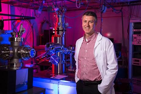 Paul Thibado, University of Arkansas. Photo by Russell Cothren, University of Arkansas