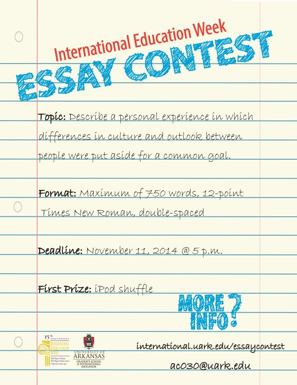international student essay competition 2014 The african liberty essay competition 2014 application has commenced and interested persons can start tuition free universities in norway for international students.