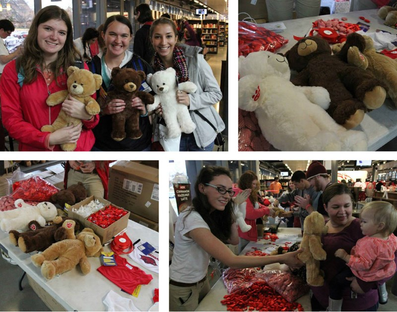 Third annual Build-A-Bear Event