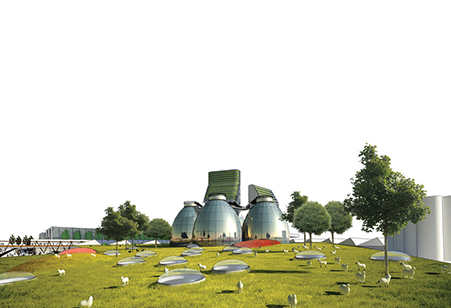 This waste-to-energy facility is part of the award winning Fayetteville 2030: Food City Scenario