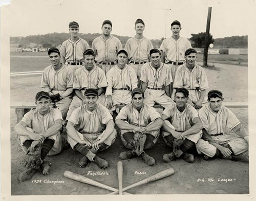The 1939 Fayetteville Angels.