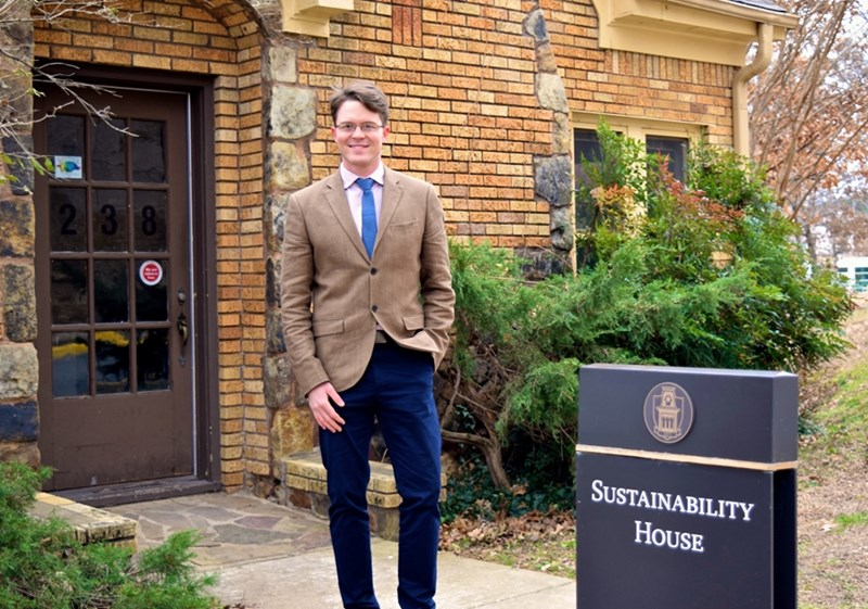 Eric Boles joined the Office for Sustainability as the new director in mid-December.