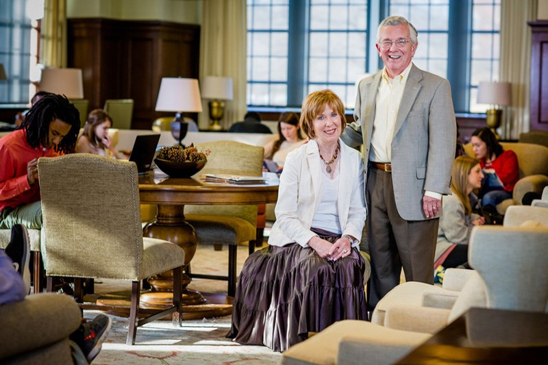 Bob and Linda McMath. Photo credit: Stephen Ironside.