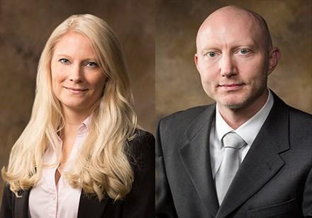 Hanna and Morten Jensen