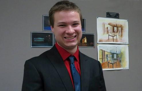 Jacob Hofer, third-year MFA Lighting Design candidate
