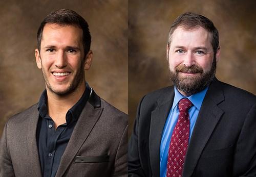 Corey DeAngelis, left, and Patrick J. Wolf
