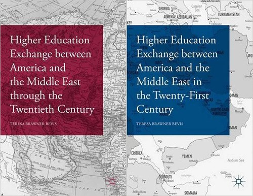 Teresa Bevis' books chronicle education exchange between the United States and Middle East.