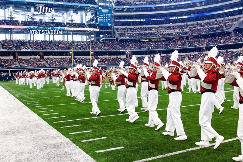 University of Arkansas Bands has pledged more than $1 million to create a new scholarship program