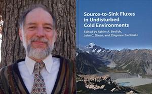 John C. Dixon, University of Arkansas, and the cover of his book.