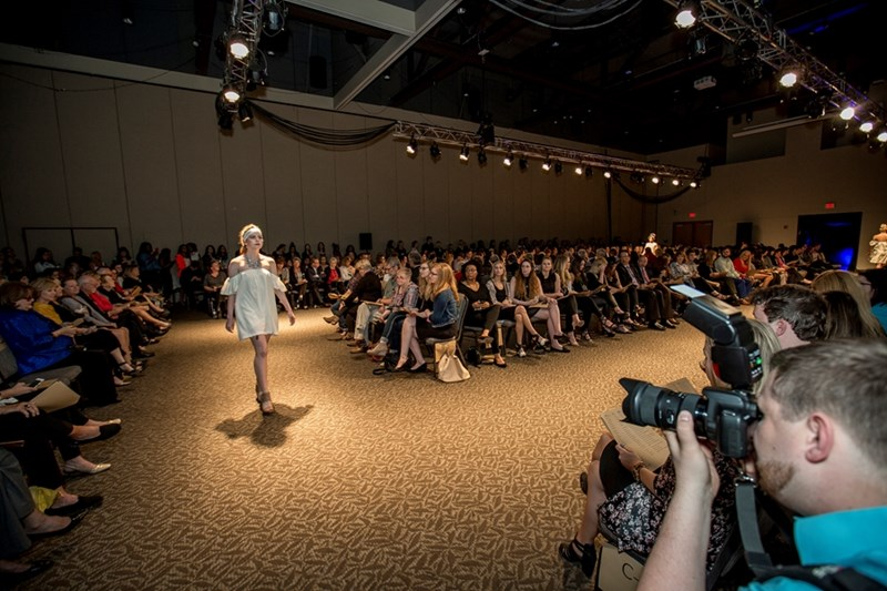 Last year's benefit fashion show drew a crowd of 600 to the Fayetteville Town Center. This year's Enclothe: Futuristic Floral show is set for April 28.