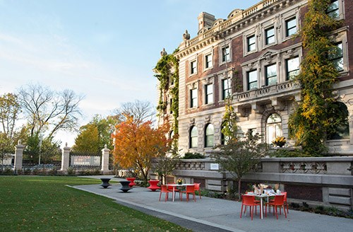 RAFT Landscape Architecture collaborated with Diller Scofidio and Renfro and Hood Design on the rehabilitation of the garden at the Cooper Hewitt Smithsonian Design Museum.