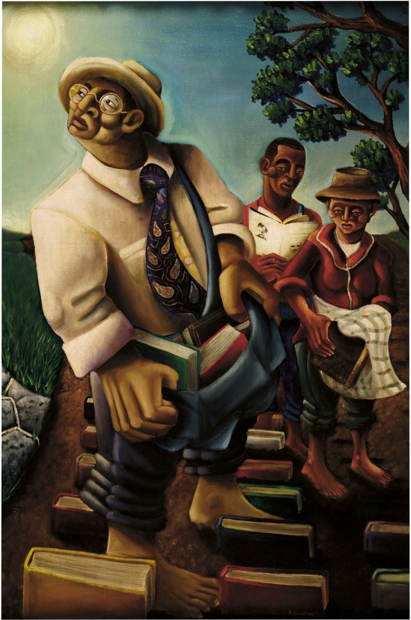 The Cultivators, 2000, by Samuel L. Dunson Jr., from The Kinsey African American Art & History Collection.