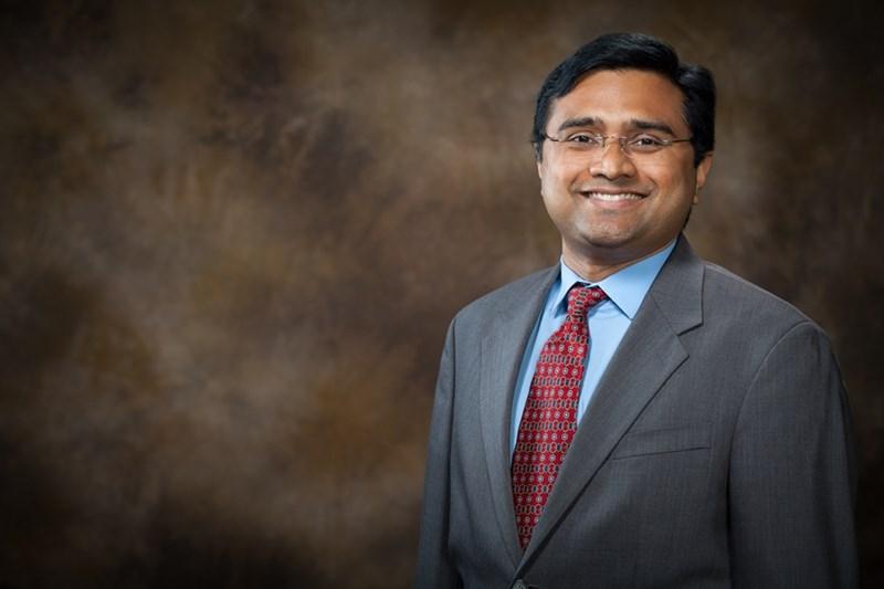 Arun Nair, assistant professor of mechanical engineering.