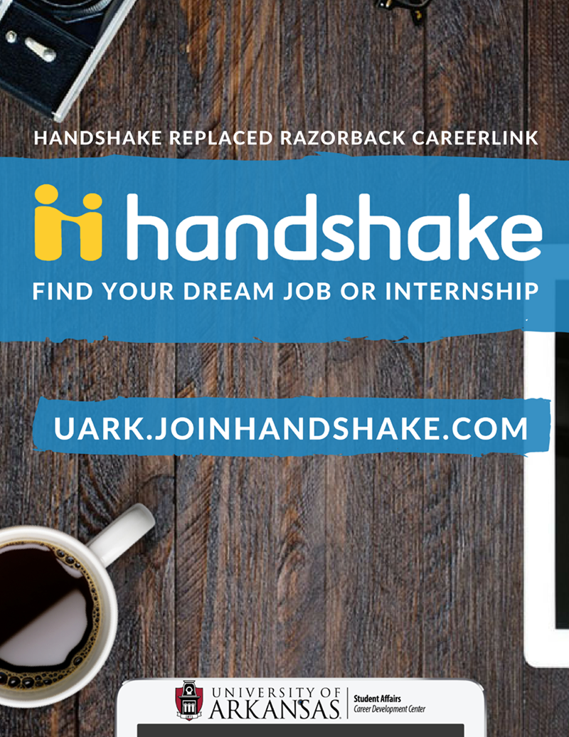 Handshake has replaced Razorback CareerLink.