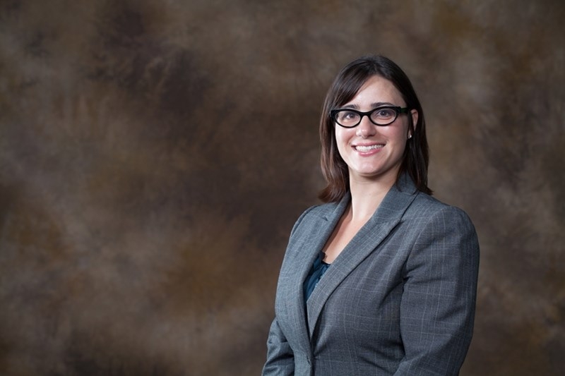 Jamie Baum, assistant professor of nutrition in Bumpers College's Department of Food Science.