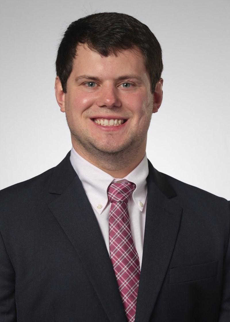 Graduate student Jesse Roberts