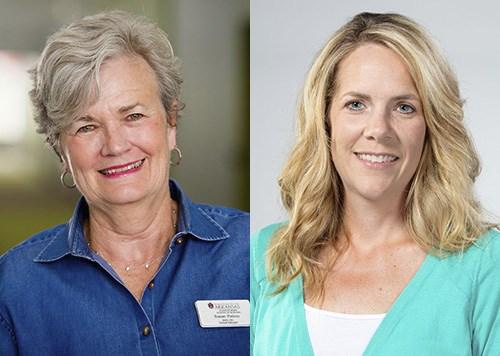 Susan Patton, left, and Lori Murray