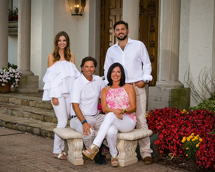 John and Tamara Roberts, along with their children Blakely and Connor, have contributed $50,000 to support study abroad scholarships at the University of Arkansas.