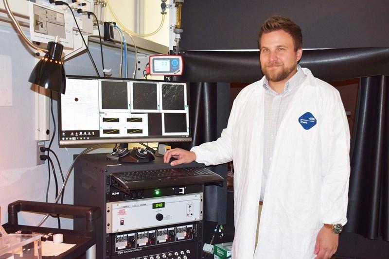 Kyle Quinn, assistant professor of biomedical engineering.