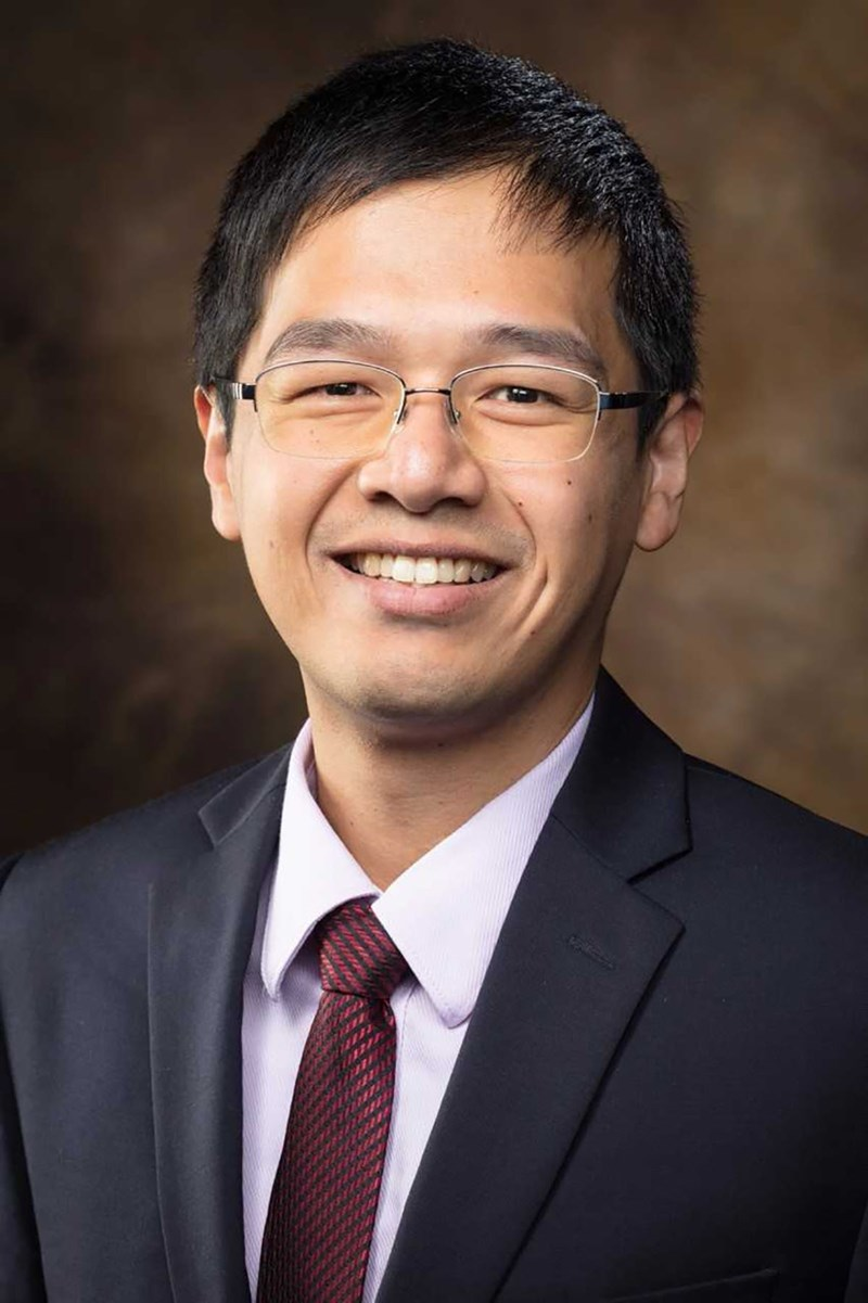 Yao-Chin Wang is a new member of the hospitality innovation faculty.