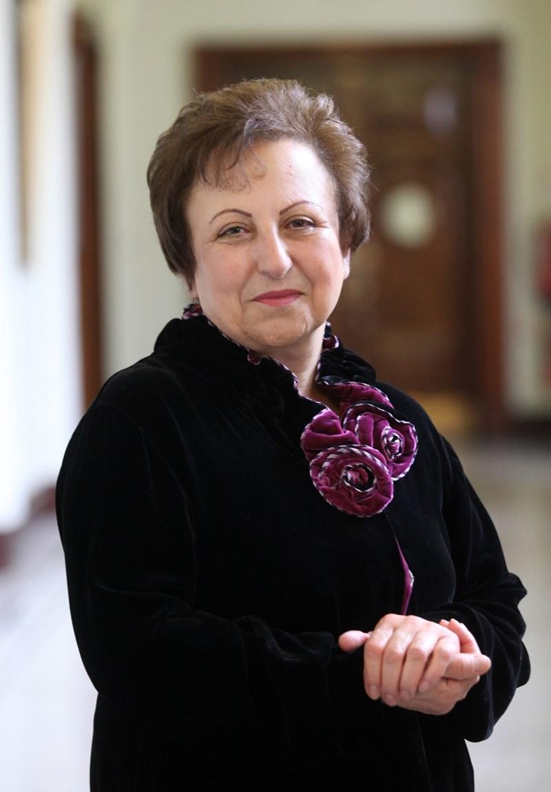 Nobel Peace Prize laureate Shirin Ebadi