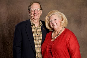 Bill and Margaret Harrison. (Photo courtesy of the College of Engineering)