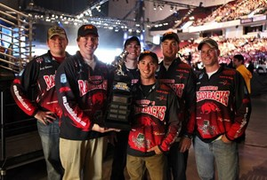 Bass Fishing Club at Bassmaster College Classic. Photo courtesy of BassMafia Tackle.