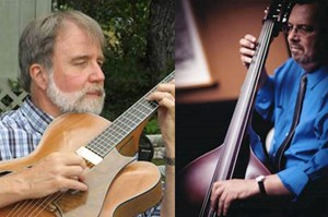Jim Greeson and Joe Cripps, newest members of Arkansas Jazz Hall of Fame