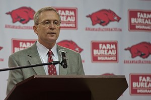 Jeff Long, vice chancellor and director of athletics