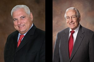 President Ricardo Martinelli and Lee Bodenhamer will speak and receive honorary degrees at the All University Commencement