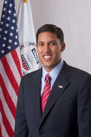 Rajiv Shah is the administrator of the U.S. Agency for International Development.