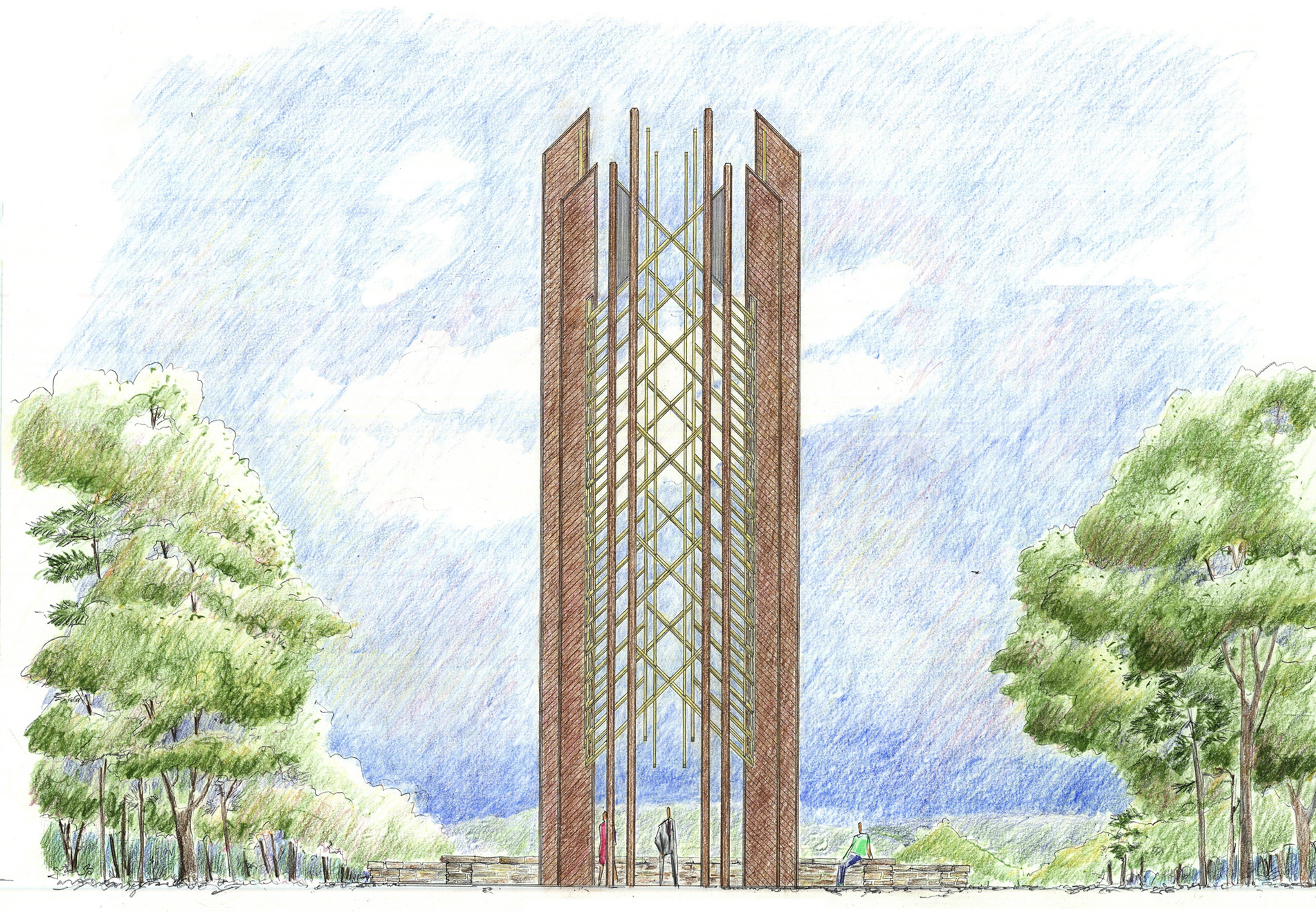 Architect's rendering of Anthony Carillon