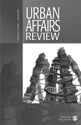 Urban Affairs Review, Volume 49, Number 1, January 2013