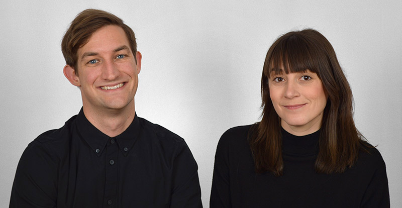 Portrait of Charles Sharpless and Jessica Colangelo