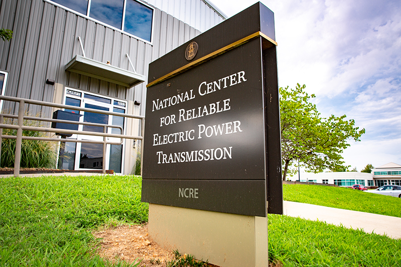 National Center for Reliable Electric Power Transmission is the highest-powered power electronics test facility at any university in the United States. Photo by University Relations.