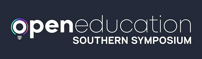 logo for open education southern symposium