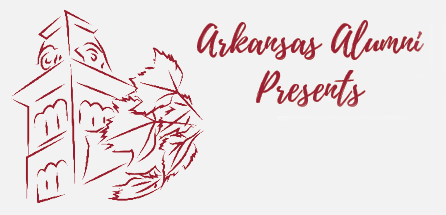 Logo for Arkansas Alumni Presents series