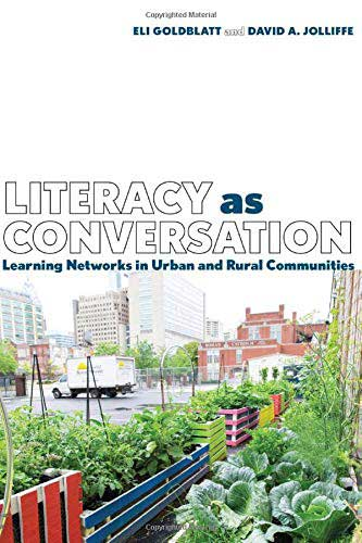 "Book cover of ""Literacy as Conversation"""