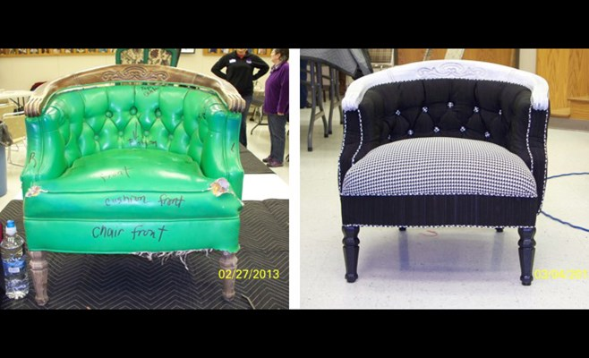 Learn To Reupholster Furniture Through Extension Service