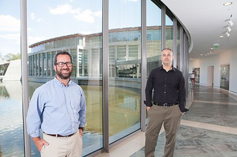 Jay Greene, left, and Brian Kisida led the research team studying the effect of field trips.