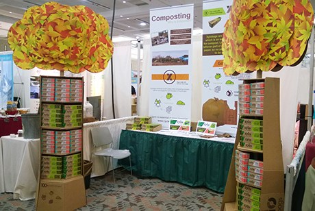 CycleWood Solutions displayed its Xylobag products at the Natural Products Expo East in Baltimore in September.